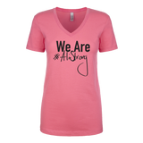 #AliStrong Ladies V-Neck