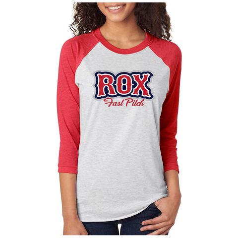 The Rox Baseball Style 3/4 Sleeve *ADULT & YOUTH SIZES*