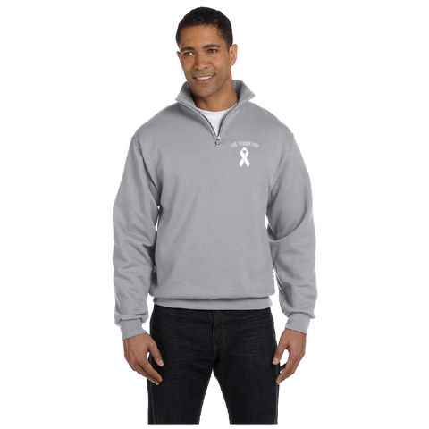 SMB Foundation Ribbon Cotton Fleece Quarter Zip