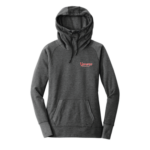 Vipers New Era® Ladies Tri-Blend Fleece Pullover Hoodie