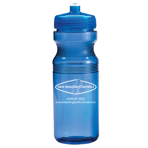 NEC 24oz Translucent Water Bottle
