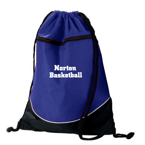 Norton Basketball Tri-Color Drawstring Backpack