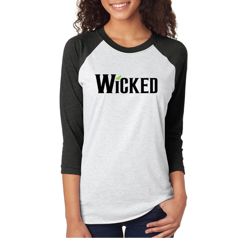OSIT Wicked Baseball Raglan 3/4 Sleeve T-Shirt