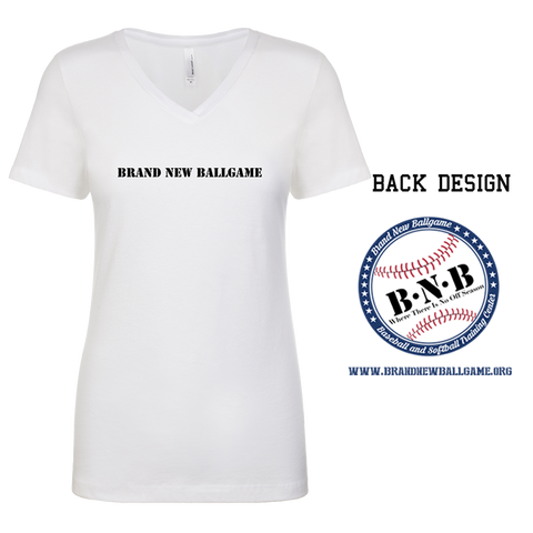 BNB Front & Back Ladies V-Neck