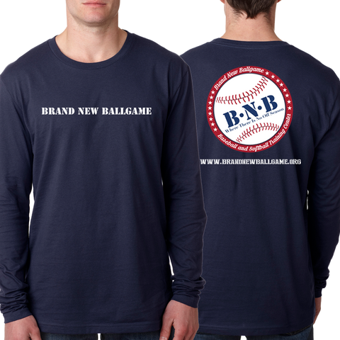 BNB Front & Back Long Sleeve T-Shirt