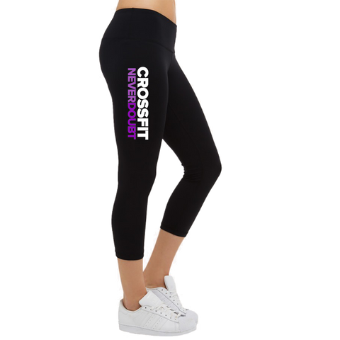 CrossFit NeverDoubt Ladies Capri Leggings
