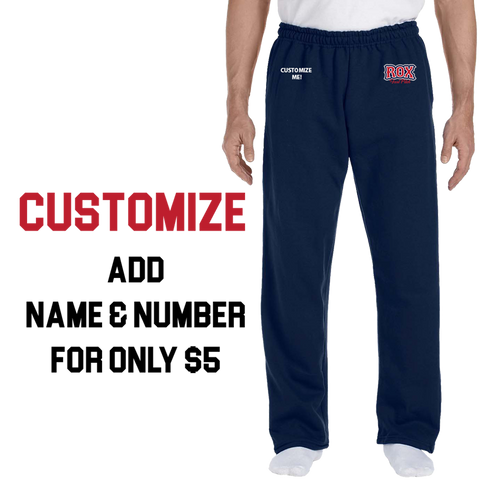 The Rox Open Bottom Sweatpants