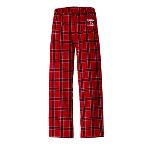 Hingham Youth Football Flannel Pajamas