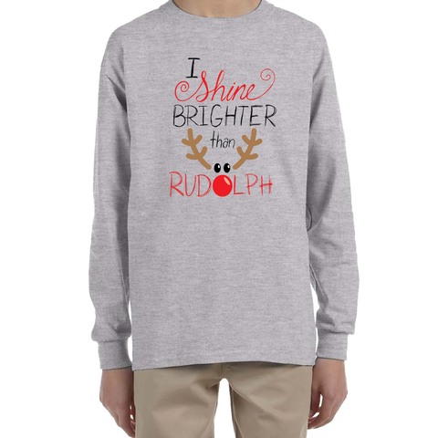 OSIT Rudolph Youth Long Sleeve T-Shirt