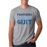 Franklin Panthers Never Quit T-Shirt