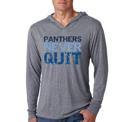 Franklin Panthers Never Quit Light Weight Hoodie
