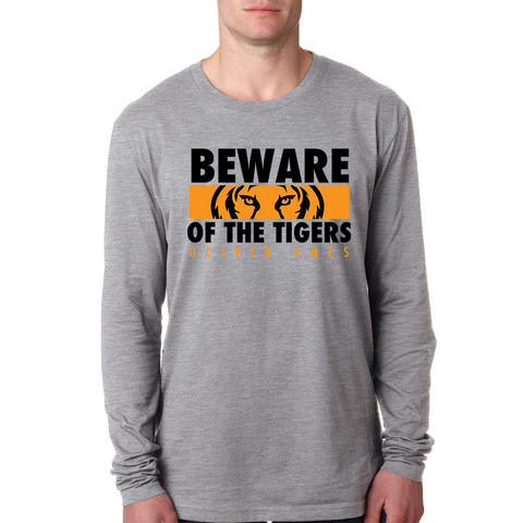 Oliver Ames Beware of the Tigers Long Sleeve T-Shirt