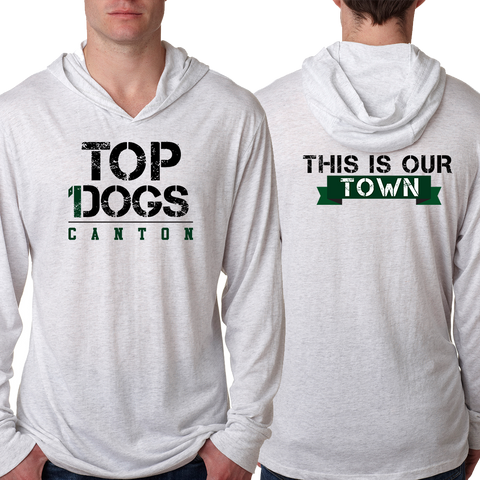 Canton Top Dogs Light Weight Hoodie