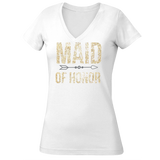 Maid of Honor Sparkle Gold