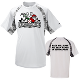 OFFICIAL TOURNAMENT TEE Mansfield Melee Digital Hook T-Shirt