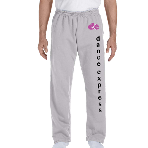 Dance Express Open Bottom Sweatpants
