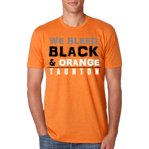 Taunton We Bleed Black & Orange T-Shirt