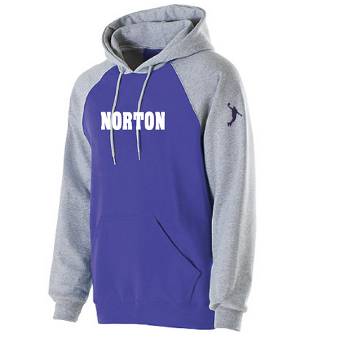 Norton Basketball Youth Banner Hoodie Norton Chest **ADULT & YOUTH SIZES**