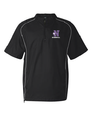 Norton Baseball/Softball Rawlings Short Sleeve Quarter Zip