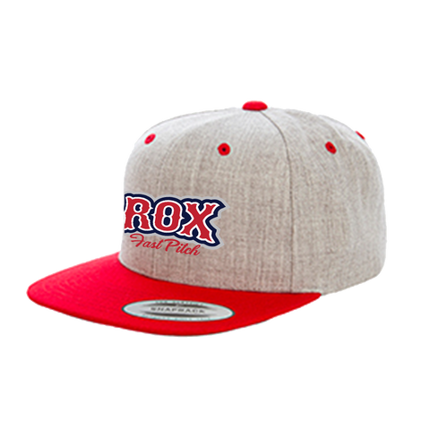 The Rox Two Tone Wool Flat Lid Hat