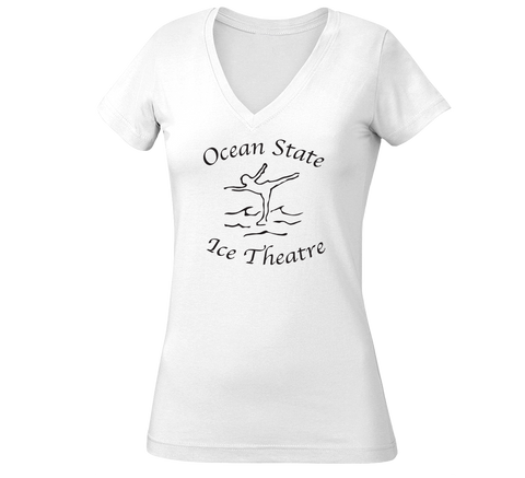 OSIT Ladies V-Neck T-Shirt
