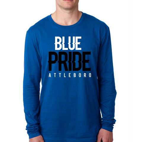 Attleboro Blue Pride Long Sleeve T-Shirt