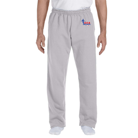 AGA Gymnastics Open Bottom Sweatpants *ADULT & YOUTH SIZES*