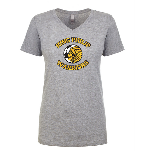 King Philip Soccer Ladies V-Neck