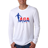 AGA Gymnastics Long Sleeve T-Shirt *ADULT & YOUTH SIZES*
