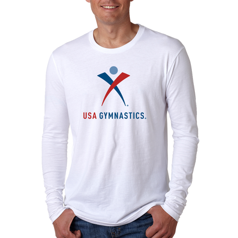 USA Gymnastics Long Sleeve T-Shirt *ADULT & YOUTH SIZES*