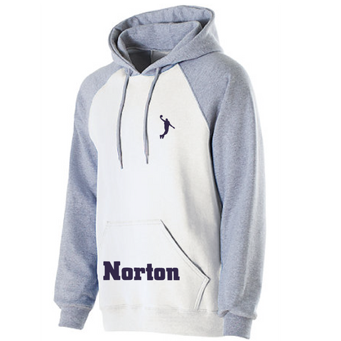 Norton Basketball Youth Banner Hoodie Norton Pocket **ADULT & YOUTH SIZES**