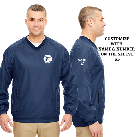 Foxboro Baseball Windbreaker