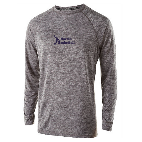 Norton Youth Basketball Holloway Youth Performance Long Sleeve **ADULT & YOUTH SIZES**