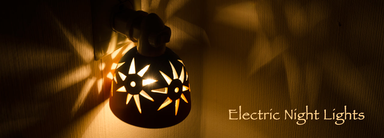 Electric Night Lights from StarryLights Studio