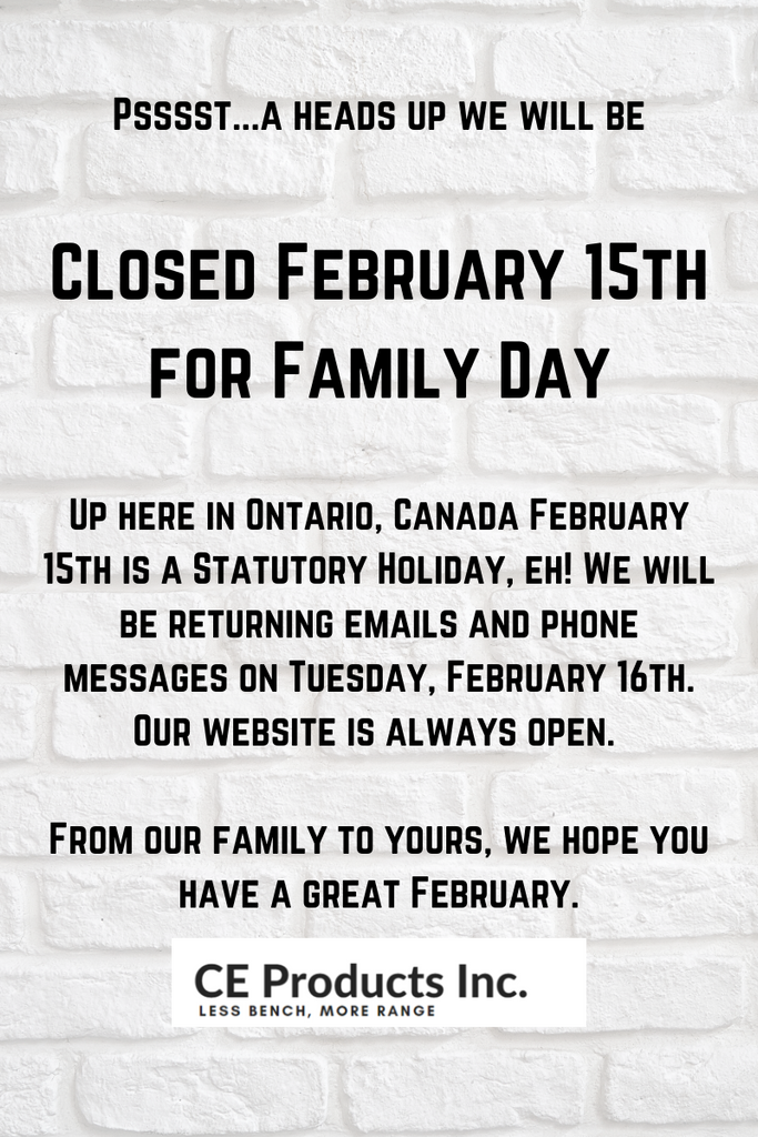 Office Closed February 15th for Family Day