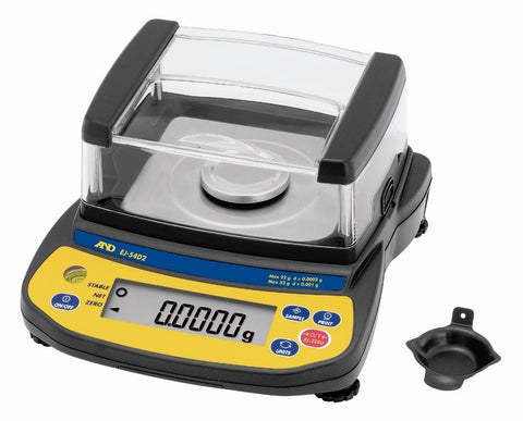 A&D EJ-54D2 Dual Range with USB connection - 22g x 0.0002g / 52g x 0.001g Reloading Scale