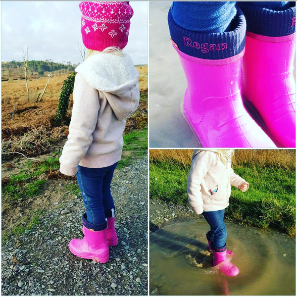 Personalised Dino Welly Boots