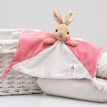 Flopsy Bunny or Peter Rabbit Comfort Blanket