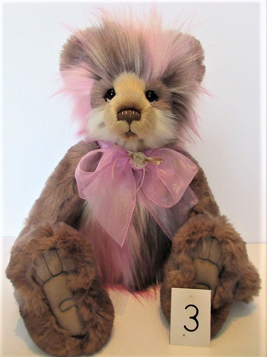 "Charlie Bear ""Marisa"" 20""(51cm) tall.RRP £87,NOW £82 Actual photo 3"