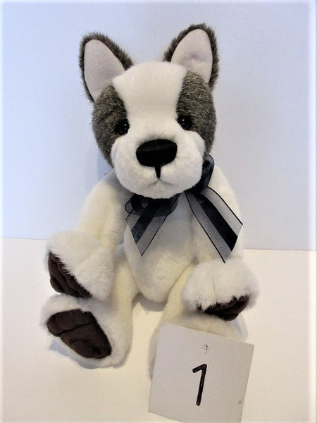 "Charlie Bear ""Mud Magnet"" 8.5"" (21cms) tall in seated position to top of ears.RRP £45. NOW £36. Actual Photo (1)"