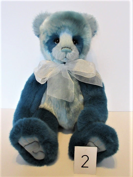 "Charlie Bear ""Ollibobs"" 19""(48cm) tall.  £92. Actual Photo (2)"