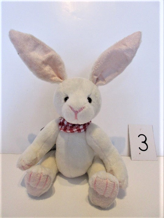 "Charlie Bear ""Gadabout"" Rabbit. £22. Actual Photo's (3)"
