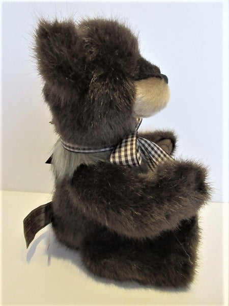 "Charlie Bear Bearhouse""Little Tyke"". 8.5""(22cm) tall.RRP £37. NOW £32 Actual Photo's"