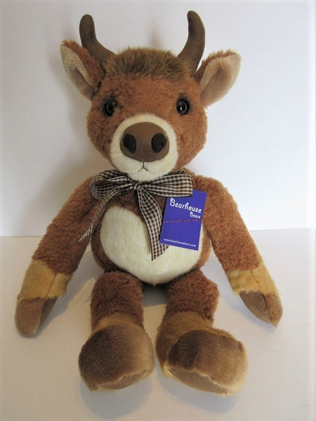 "Charlie Bear Bearhouse""Holyrood"". 19""(48cm) tall. RRP £30 Now £24. Actual Photo's"