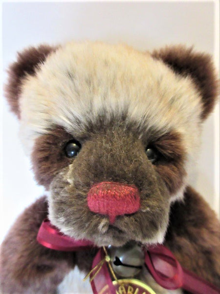 "Charlie Bear ""Kit"".11""(28cm) tall.  Pre Owned. £65. Actual Photo's"