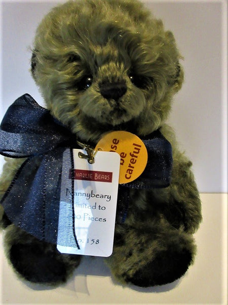 "Charlie Bear ""Nannybeary"" Minimo. 7"" (18cm) tall. L/E 158/600. £92. Actual Photo"