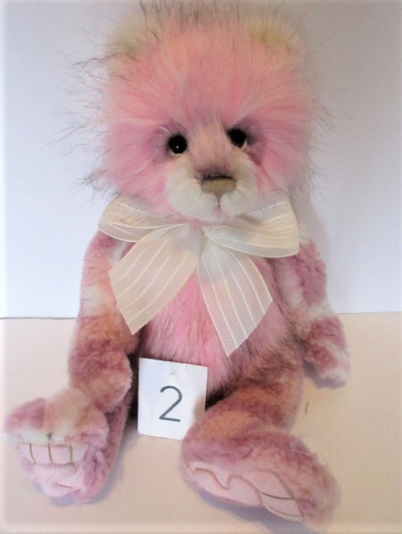 "Charlie Bear ""Julia"" . 14""(36cm) tall.RRP £75.NOW £70 Actual Photo's (2)"