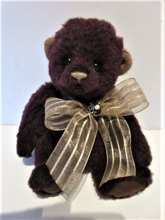 "Charlie Bear ""Dewbeary"" Minimo, 6.5"" tall, Limited Edition 292/600. £85.00. Actual Photo's"