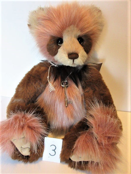 "Charlie Bear ""Denise"" 19""(48cm) tall. £92. Photo's (3)"