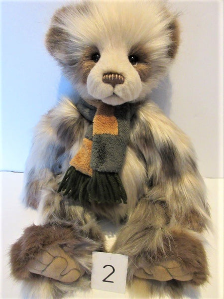 "Charlie Bear ""Miller"". 19"" (48cm) tall. £80. Actual Photo,s (2)"